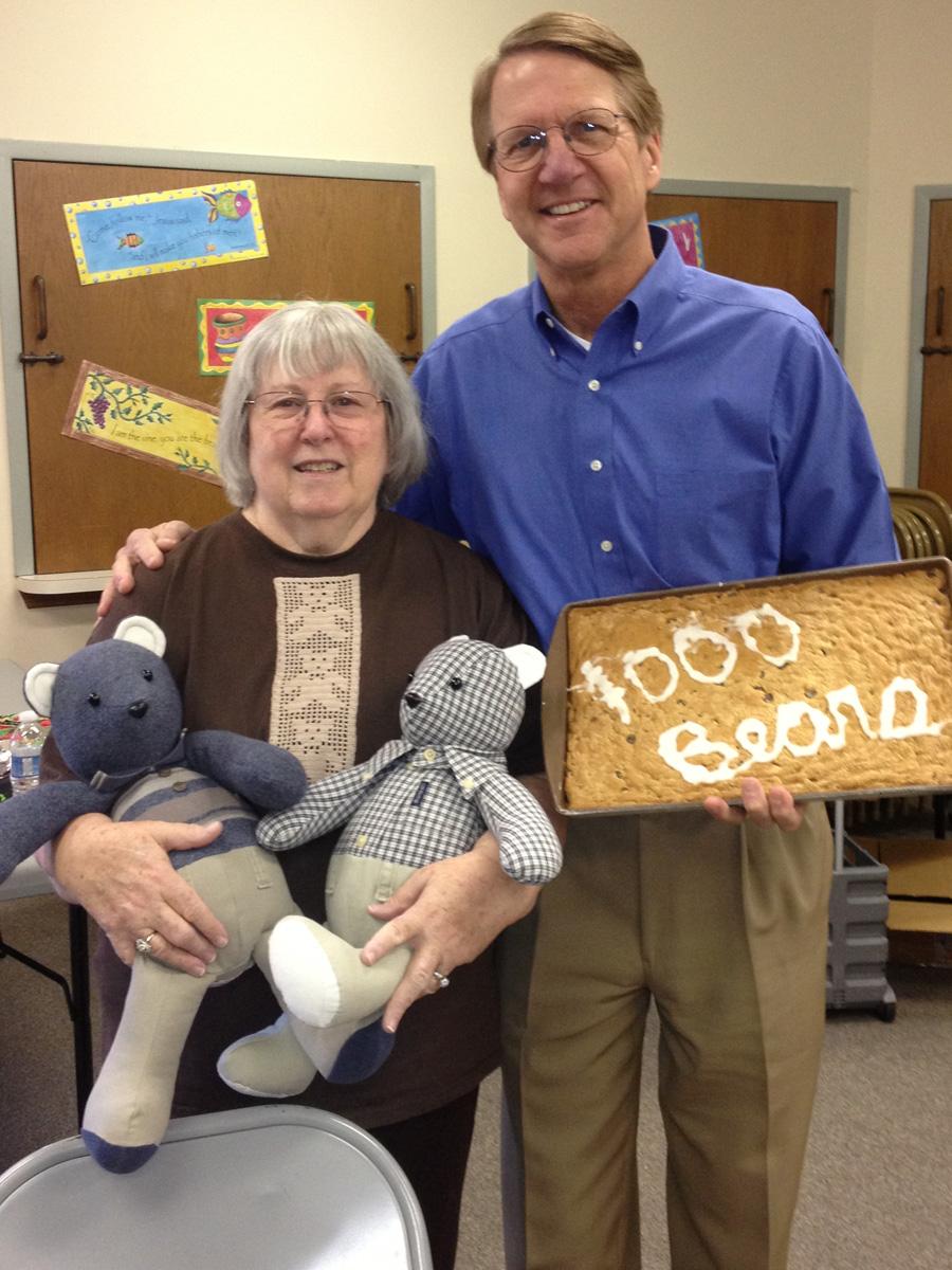Nancy Crow - 1000 Bears for Vista Hospice