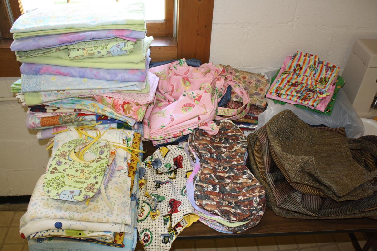 Sewrifics Sew for Oklahoma - Bibs, Blankets & Dresses