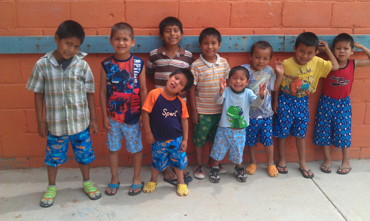 Shorts for Casa del Pastor in Mexico