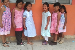 Pillowcase dresses for Casa de Pastor Mexico